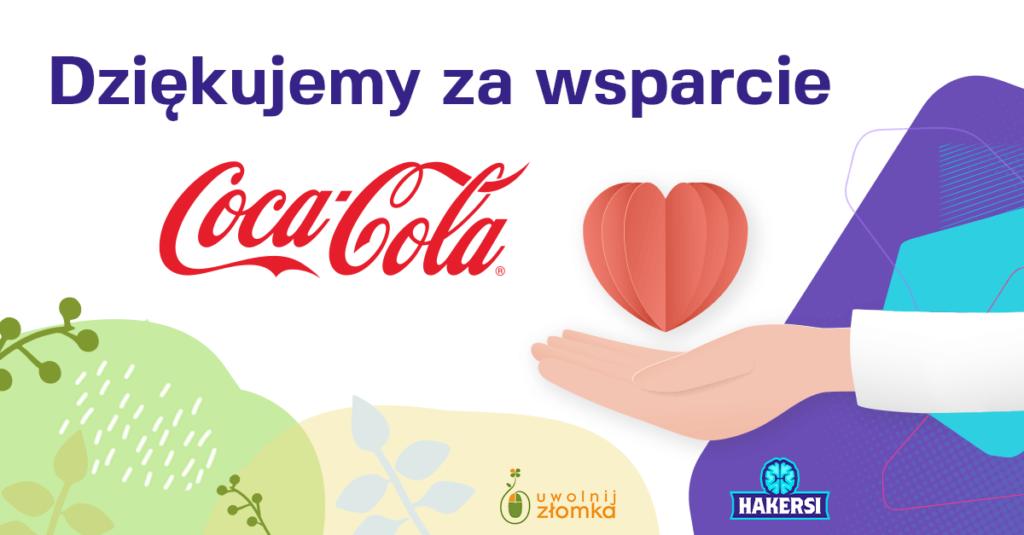 Coca-Cola dziękujemy